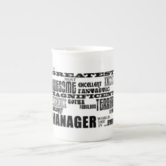 Managers & Bosses : Greatest Manager Bone China Mug