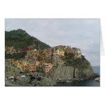 Manarola Italy Cards