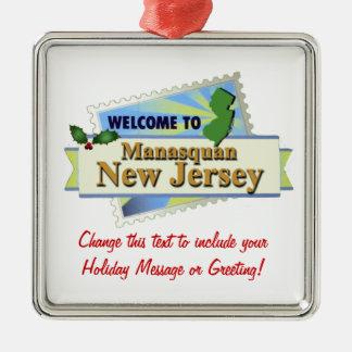 Manasquan NJ Christmas Ornament