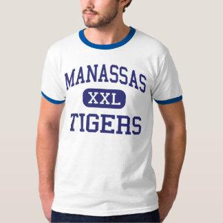 Manassas - Tigers - High - Memphis Tennessee T-Shirt