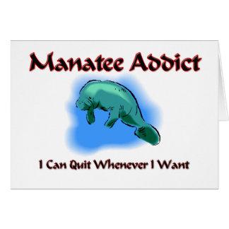 Manatee Addict Card