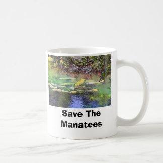 Manatee at BS, Save The Manatees Mugs