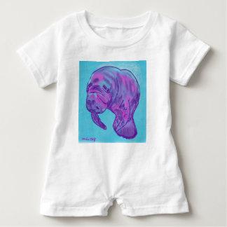Manatee baby Romper Baby Bodysuit