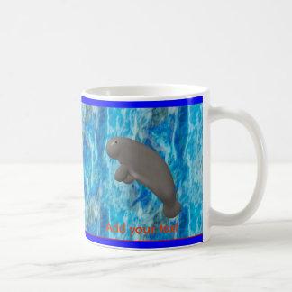 Manatee Basic White Mug