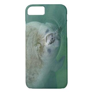 Manatee Close Up iPhone 7 Case