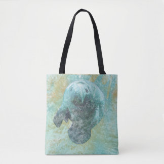 Manatee Coastal Living | Tote Bag