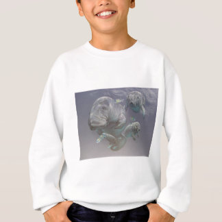 Manatee Family Sweatshirt
