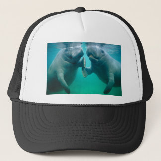 manatee hate trucker hat