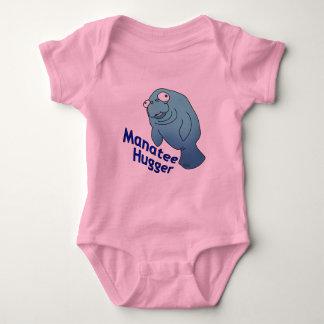 Manatee Hugger Baby Bodysuit