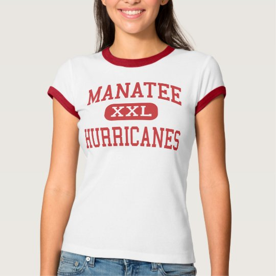 Manatee - Hurricanes - High - Bradenton Florida T-Shirt