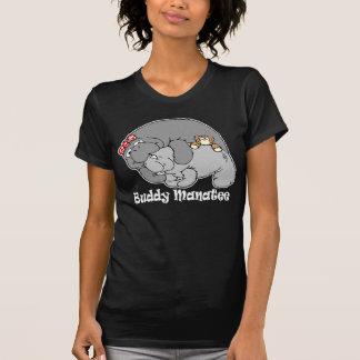 Manatee Kiss Dark Apparel Tshirt