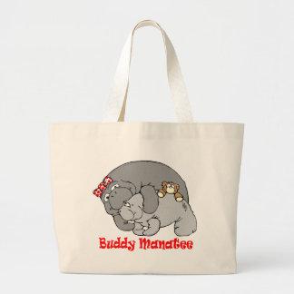 Manatee Kiss Tote Bag