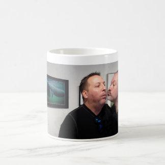 Manatee Kisses re-enactment Coffee Mug