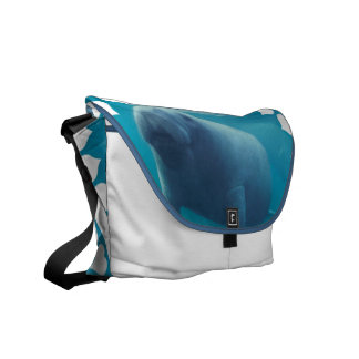 Manatee  Messenger Bag