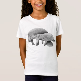 Manatee Mother and Calf T-shirt