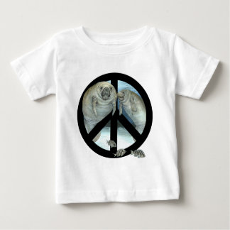 manatee peace baby T-Shirt