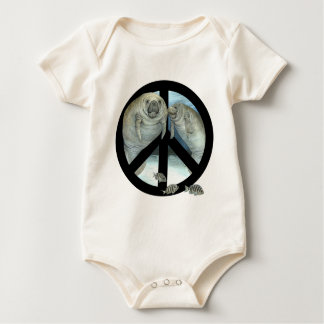 manatee peace rompers