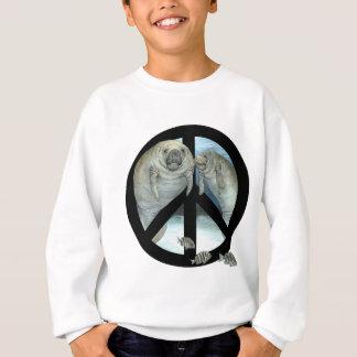 manatee peace sweatshirt