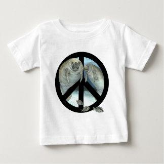 manatee peace shirt