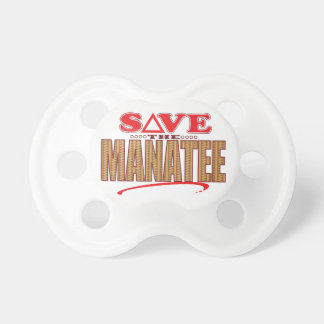 Manatee Save Baby Pacifier