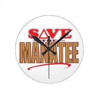 Manatee Save Clocks