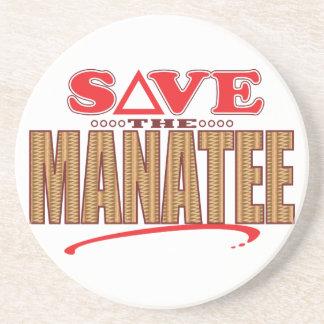 Manatee Save Coaster
