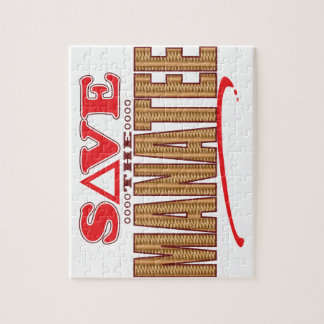 Manatee Save Jigsaw Puzzle