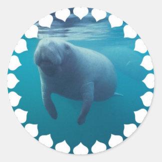 Manatee Stickers