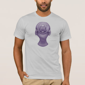 Manatee T-Shirt (Premium - Silver)