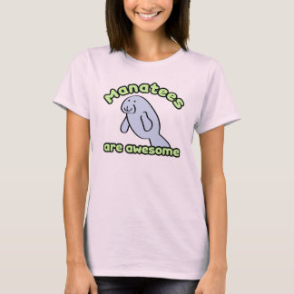 Manatees Are Awesome T-Shirt