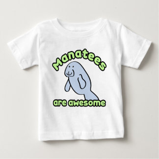 Manatees Are Awesome Tees