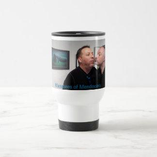 Manatees of Mendocino Travel Mug