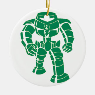 Manbot Christmas Ornament
