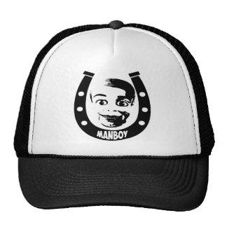 Manboy Horseshoe Trucker Hat
