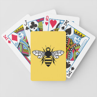 Manchester Bee Bicycle Playing Cards