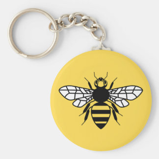 Manchester Bee Key Ring