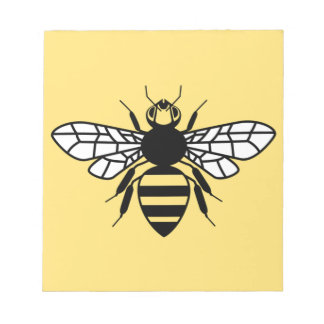 Manchester Bee Notepad