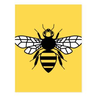 Manchester Bee Postcard