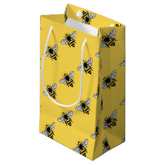 Manchester Bee Small Gift Bag