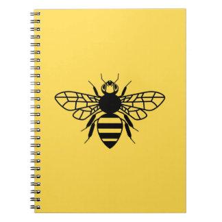 Manchester Bee Spiral Notebook