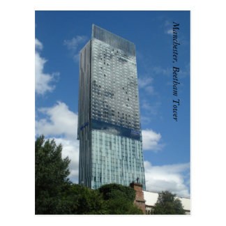Manchester, Beetham Tower Postcard