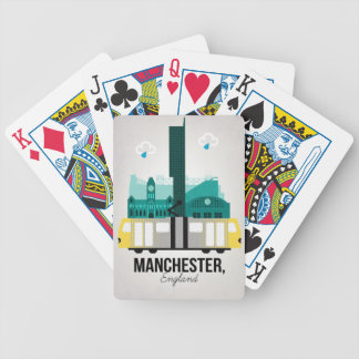 Manchester Bicycle Playing Cards