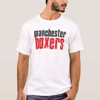 Manchester Boxers T Shirt Classic