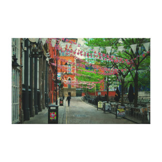 Manchester Canal Street Gallery Wrap Canvas