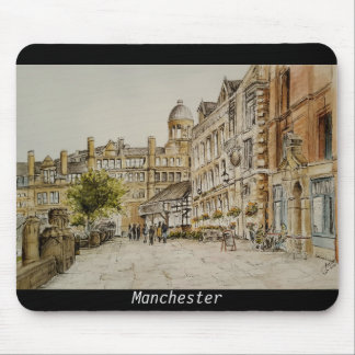 Manchester city centre (Cathedral area) mouse mat