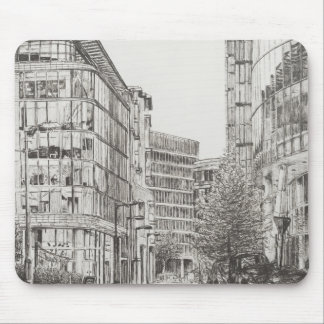 Manchester Deansgate view from cafe.2010 Mouse Pad