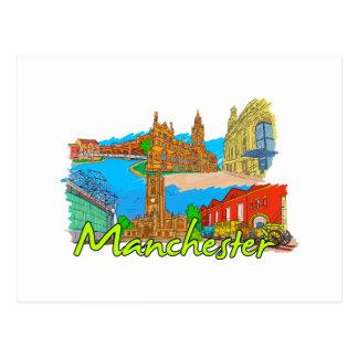 Manchester - England.png Postcard