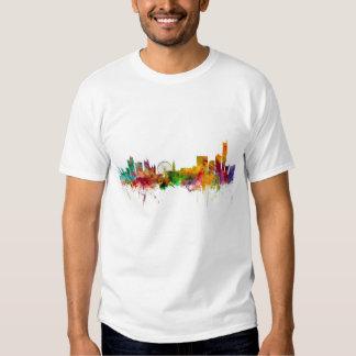 Manchester England Skyline T-shirts