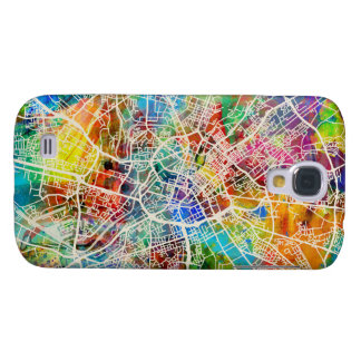 Manchester England Street City Map Galaxy S4 Case