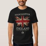 Manchester England UK Flag Tshirt